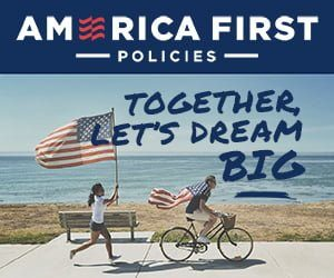 america first ad