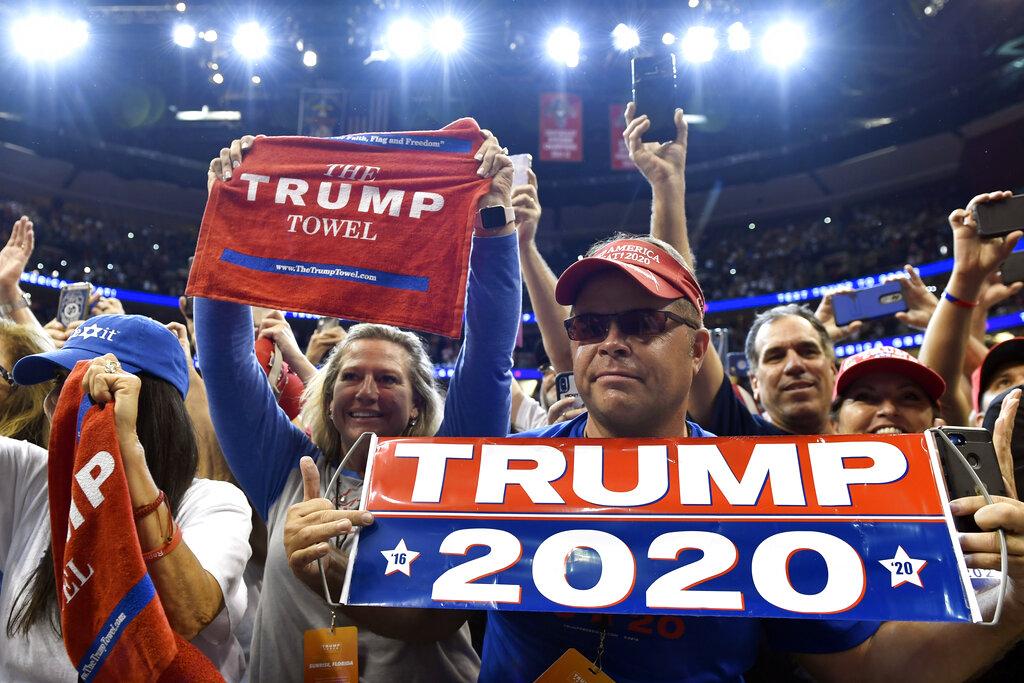 Trump Rally in Hershey PA