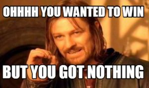 You Got Nothing