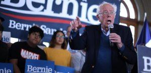 Bernie Surges in Iowa
