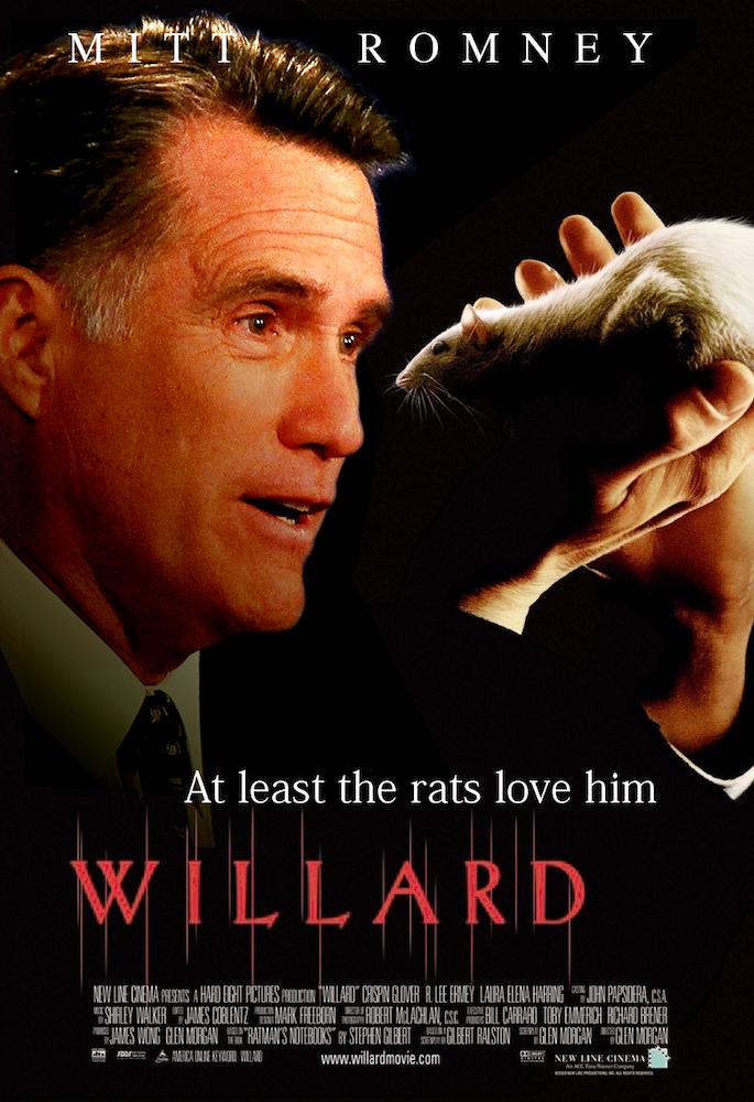 Romney The Rat Weasel