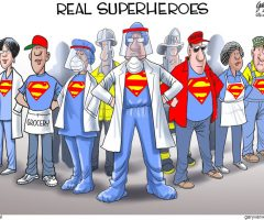The Real Superheroes
