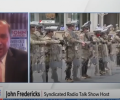 John Fredericks Debuts On NewsMax Panel: Looting, Lawlessness and the Deep State
