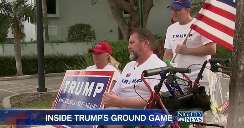 Trump's Ground Game