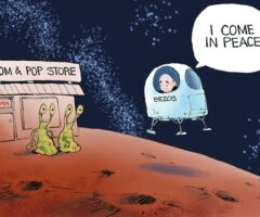 Fun Stuff: Bezos in Space