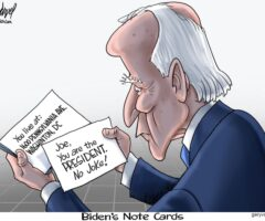 Fun Stuff: Biden's Note Cards